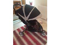 Baby Jogger City Mini Pram Black/Sand Colour Great Condition