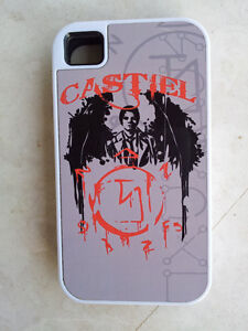 SUPERNATURAL CASTIEL IPHONE 4 COVER - WHITE