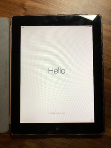 iPad 2 16GB Wifi Black with Case and Smartcover