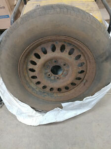 Full size Spare Tire on steel rim 245/65/17 - 6X127 - 6X5.00