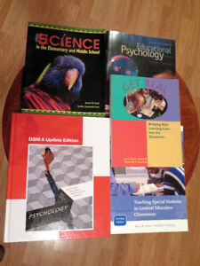 5 Various Education Books in Salmon Arm