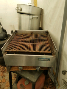 22 inch propane Imperial commercial bbq