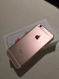 iPhone 6s unlocked rose gold £280