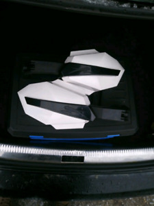 Arctic cat snowmobile hand guards