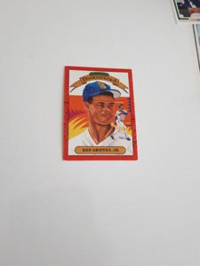 Hall of Famer Ken Griffey Jr. Card -- Donruss -- 1989