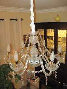 Luminaire Cristal Strass Collection Maria 6 branches