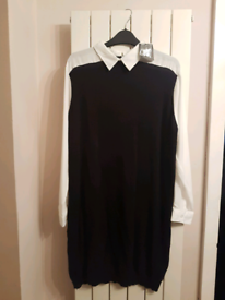 Shirt dress/jumper dress - size 16