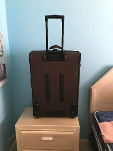 BROWN SUITCASES LUGGAGE SET OF 3