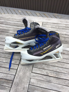 Used Bauer Supreme One.9 Boys Goalie Skate Size 4