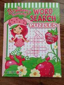 Strawberry Shortcake Jumble Activity Books