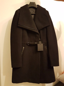 (NEW w TAG) MACKAGE Belted Wool Coat (50% OFF)