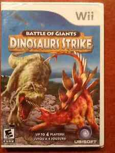 Battle of Giants - Dinosaurs Strike -- Wii Game -– Never opened