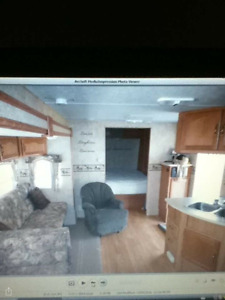 30 ft wildwood travel trailer bunkroom