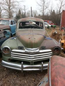 1946 Monarch  4 door project car