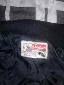 Indian motorcycle  jacket it is a large and is not leather Cambridge Kitchener Area image 4