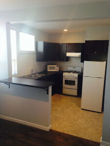 Semi-furnished 1 bedroom suite available immediately.