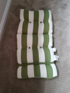 High Back Set Cushoins For Patio Chairs