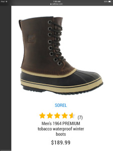 Sorel Mens Winter Boots