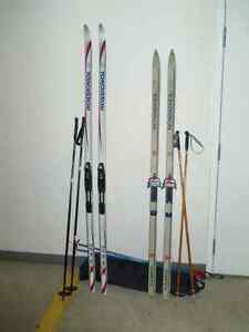 Ladies Rossignol Cross country ski package