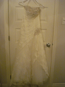 SIZE 0 WEDDING DRESS - ROBE DE MARIEE