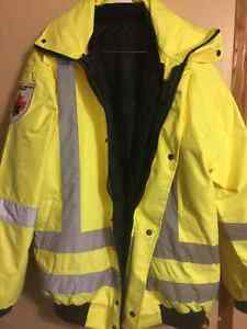 3 in 1 High Vis Winter/Spring reflective Jacket Sarnia Sarnia Area image 1