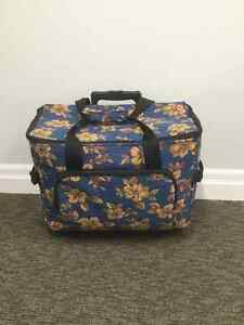 Large sewing machine wheeled cart/trolley bag