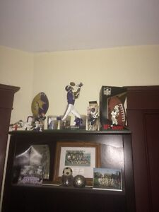 $25!! Official nfl football and football figurines