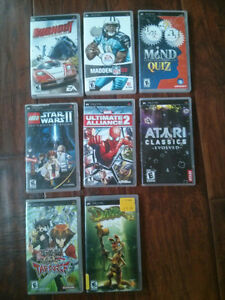 8 sony psp games for sale