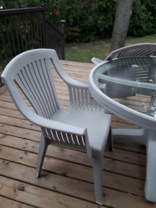 Outdoor garden Tables and Chairs