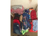 Boys bundle clothes sizes between 18m - 2yrs in good condition