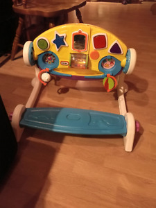 Adjustable gym 5 in 1 little tikes
