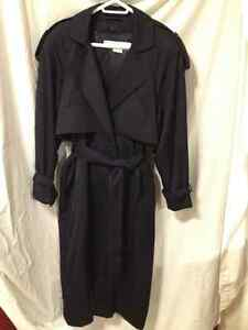 New Ladies Classic Navy Trench Coat by Nuage