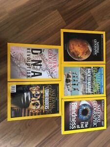5 2016 issues of National Geographic