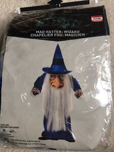Child's Wizard Costume -size small