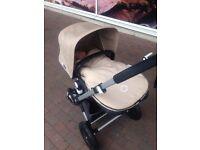 Bugaboo cameleon 3 travel system pram pushchair & pebble plus car seat