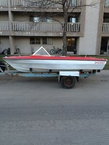1979 15' boat and trailer **Need Gone**