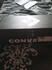 Converse white size 5 new in box