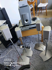 Complete set up sound sound system