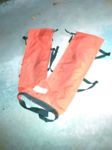 Chainsaw protection pants