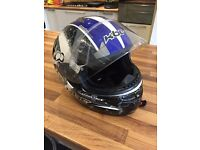 Motorcycle helmet size L large