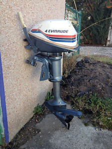 Two outboard motors