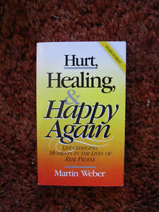 HURT, HEALING & HAPPY AGAIN - Brand new!
