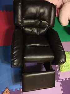 kids leather recliner chair