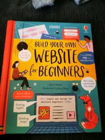 Usborne book - build your own website