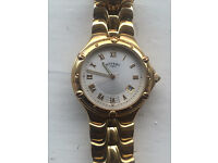 Rotary 10902 9ct Gold Plated Men's watch