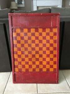 Antique Checker Board - Jeux de dames antique
