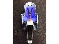 Hamax siesta bike seat for baby/toddler/child