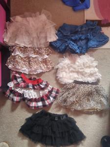 Girls 2T skirts