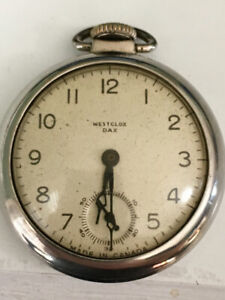1958 Westclox Dax Pocket Watch (pocketwatch)