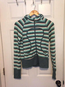 Lululemon lightweight french terry Scuba Hoodie Sz4
